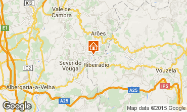 Carte Sever do Vouga Gite 59825