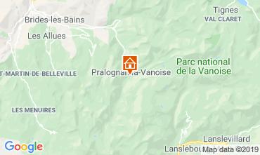 Carte Pralognan la Vanoise Chalet 2283