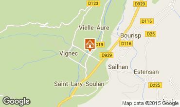 Carte Saint Lary Soulan Appartement 87371