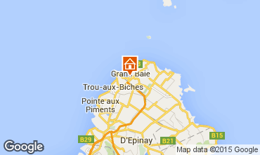 Carte Grand Baie Villa 93578
