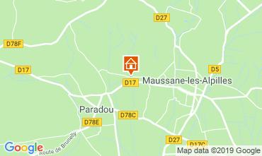 Carte Maussane les Alpilles Gite 118350