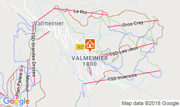 Carte Valmeinier Appartement 117420