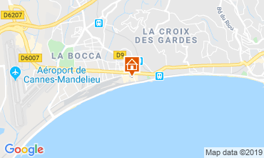 Carte Cannes Appartement 75298