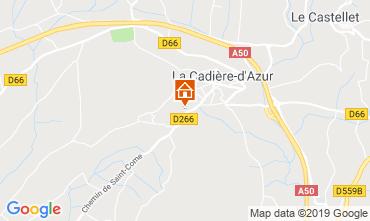 Carte La Cadière d'Azur Maison 96924