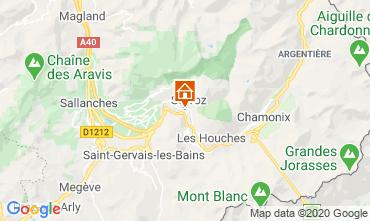Carte Chamonix Mont-Blanc Studio 90652