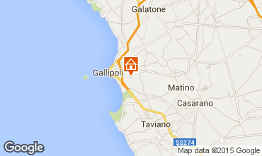 Carte Gallipoli Villa 92673
