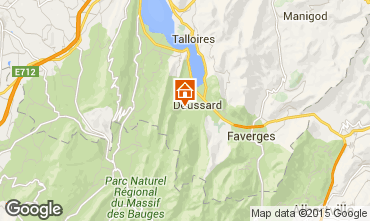 Carte Annecy Chalet 97184