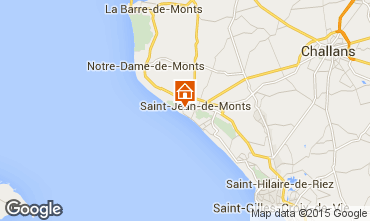 Carte Saint Jean de Monts Villa 9449