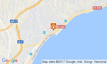 Carte Fuengirola Appartement 111259