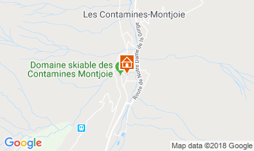 Carte Les Contamines Montjoie Appartement 117203