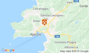Carte Ajaccio Studio 64723