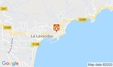 Carte Le Lavandou Appartement 118987
