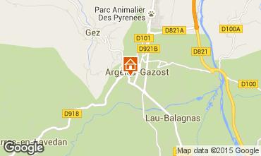 Carte Argeles Gazost Appartement 80298