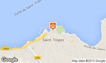 Carte Saint Tropez Studio 77349