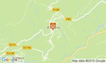 Carte Aussois Chalet 106941