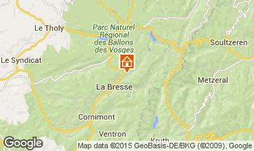 Carte La Bresse Hohneck Appartement 4534