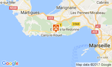 Carte Carry le Rouet Villa 112762