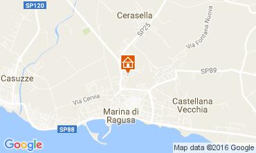 Carte Marina di Ragusa Villa 107273
