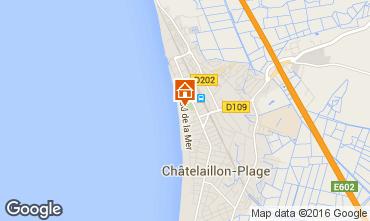 Carte Ch�telaillon plage Appartement 31188