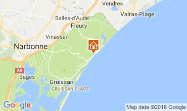 Carte Narbonne plage Maison 114046