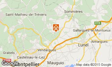 Carte Montpellier Villa 80910