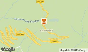Carte La Rosi�re 1850 Appartement 99577