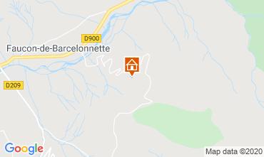 Carte Barcelonnette Chalet 2797