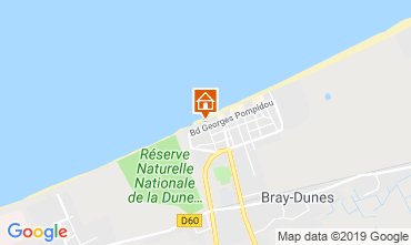 Carte Bray-Dunes Villa 117818