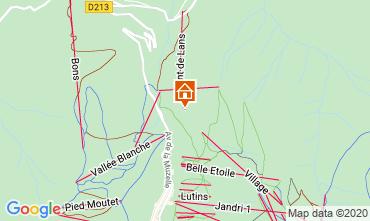 Carte Les 2 Alpes Chalet 33878