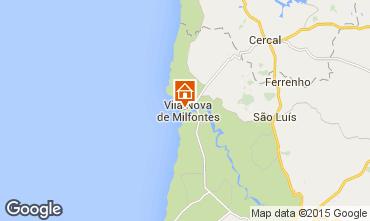 Carte Vila nova de Milfontes Appartement 45283