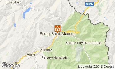 Carte Bourg saint Maurice Appartement 98749