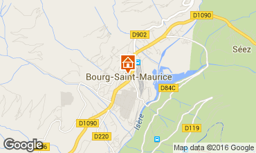 Carte Bourg saint Maurice Appartement 98749