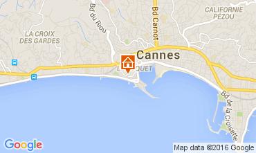Carte Cannes Appartement 104597