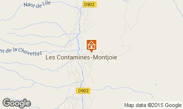 Carte Les Contamines Montjoie Chalet 27332