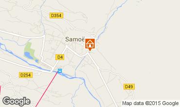 Carte Samo�ns Chalet 80254