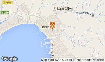 Carte Rosas Appartement 86249