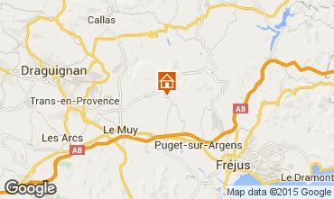 Carte Roquebrune sur Argens Villa 76912