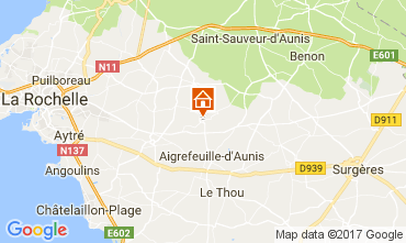Carte La Rochelle Hébergement insolite 112458