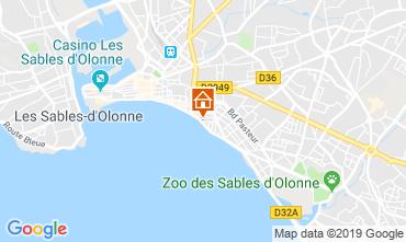 Carte Les  Sables d'Olonne Appartement 117862