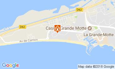 Carte La Grande Motte Studio 70583