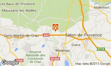 Carte Salon de Provence Gite 77630