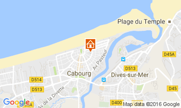 Carte Cabourg Appartement 106216