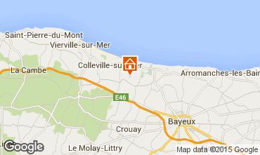 Carte Bayeux Gite 84616