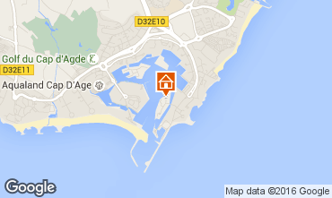 Carte Cap d'Agde Studio 103243