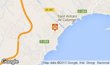 Carte Sant Antoni de Calonge Maison 63686