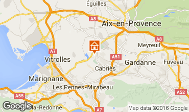 Carte Aix en Provence Villa 80619