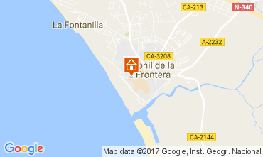 Carte Conil de la Frontera Appartement 104289
