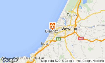 Carte Biarritz Appartement 93258