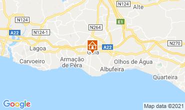 Carte Albufeira Villa 83571
