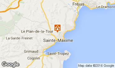 Carte Sainte Maxime Villa 103264